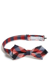 Nordstrom Buffalo Plaid Silk Bow Tie