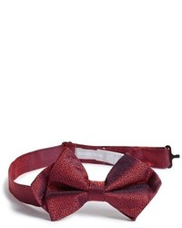 Nordstrom Pixelate Silk Bow Tie