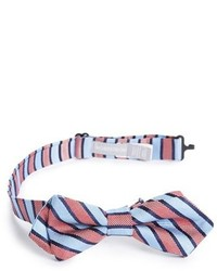 Nordstrom Slick Stripe Silk Bow Tie