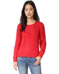 Scotch sodamaison scotch cable sweater medium 814235