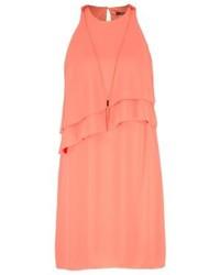 Esprit Summer Dress Coral Orange