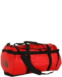 Red Canvas Duffle Bag
