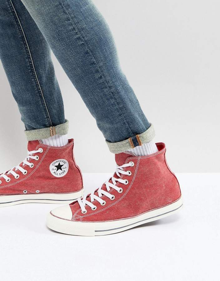 5d87872041859 ... italy top sneakers converse chuck taylor all star hi sneakers in red  159538c b5bc9 b8031