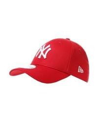 New Era 39thirty New York Yankees Cap Red