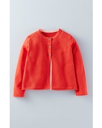 Mini Boden Pretty Solid Cardigan
