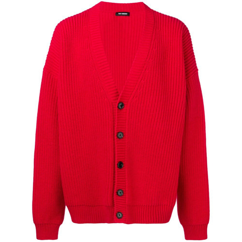 Raf Simons Oversized Knit Cardigan