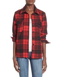 Thread supply buckhorn plaid shirt medium 396632