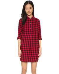 Jane plaid flannel shirtdress medium 436786