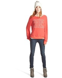 Wildfox Christmas Sweater.Wildfox Couture Wildfox Baggy Beach Jumper Holiday List