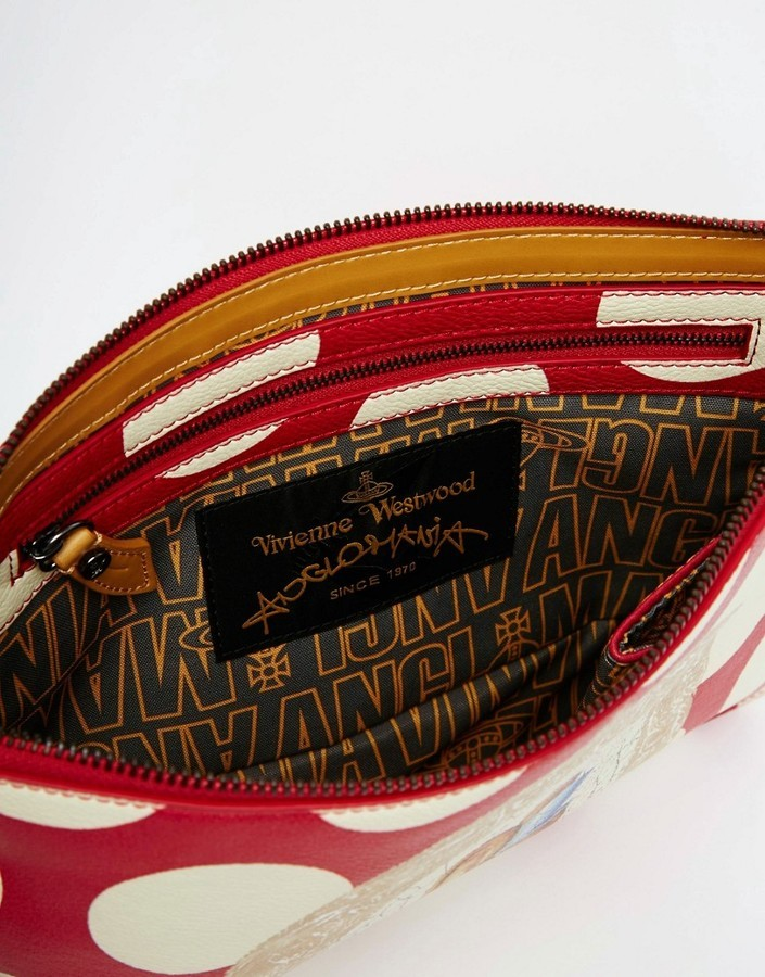 4be98e0e60a Vivienne Westwood Clutch Bag With Bunny Rabbit In Red, £134 | Asos |  Lookastic UK