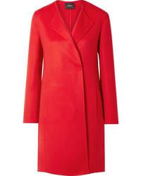 Akris Blacky Cashmere Coat
