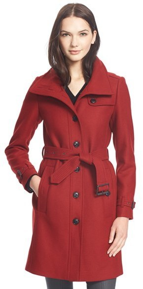 single breasted coats for women
