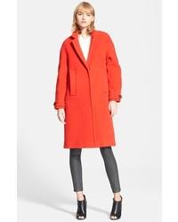 Burberry Brit Marstead Long Wool Blend Coat