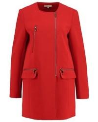 Morgan Gad Short Coat Red