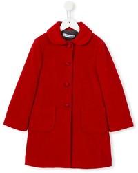 Dolce & Gabbana Kids Peter Pan Collar Coat