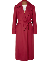 Giuliva Heritage Collection Linda Belted Wool Gabardine Coat