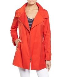 MICHAEL Michael Kors Michl Michl Kors Asymmetrical Zip Stand Collar Coat