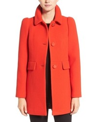 Kate Spade New York Wool Blend A Line Coat