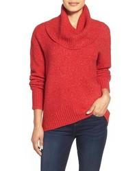Michl michl kors cowl neck elliptical hem sweater medium 355007