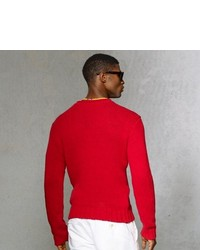 Polo Ralph Lauren Cotton Linen Roll Neck Sweater
