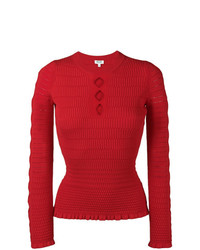 Kenzo Cut Out Fitted Jumper