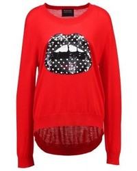 Markus Lupfer Lips Joey Jumper Red
