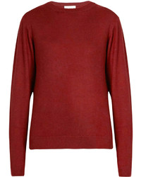 Raey Ry Crew Neck Fine Knit Cashmere Sweater