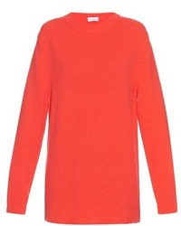 Raey Ry Crew Neck Loose Knit Cashmere Sweater