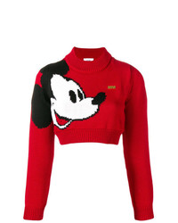 Gcds X Disney Mickey Mouse Knit Sweater