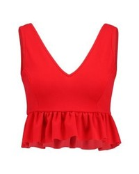 New Look Go Deep Vest Bright Red