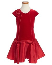 Girls Isobella Chloe Royal Jewels Drop Waist Dress