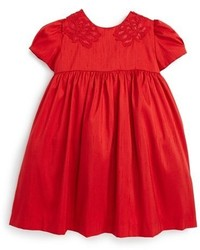 Luli & Me Infant Girls Shantung Dress