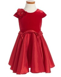 Toddler Girls Isobella Chloe Royal Jewels Drop Waist Dress