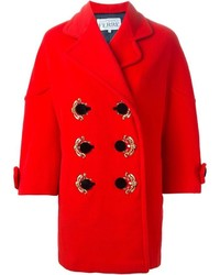 Gianfranco Ferre Vintage Embellished Double Breasted Coat