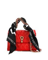 Ermanno Scervino Mini Scarf Embellished Bag