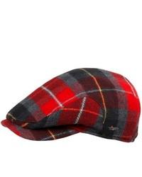 Red Flat Cap