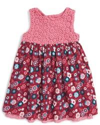 Pumpkin Patch Infant Girls Floral Print Sleeveless Dress