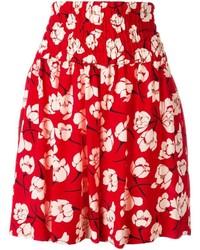 Rochas Floral Print Shorts