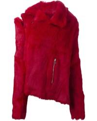 MARQUES ALMEIDA Marquesalmeida De Constructed Fur Jacket