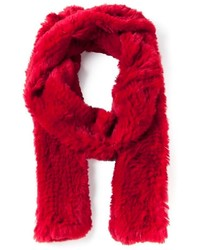 Liska Rabbit Fur Scarf