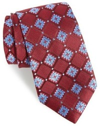 Nordstrom Shop France Geometric Silk Tie