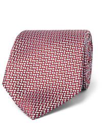 Brioni 8cm Silk Jacquard Tie