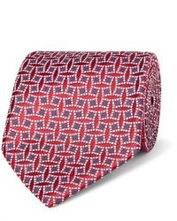Charvet 9cm Silk Jacquard Tie