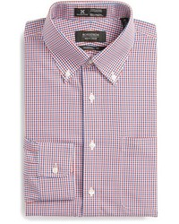 Nordstrom shop smartcare tm tradtional fit check dress shirt medium 414708