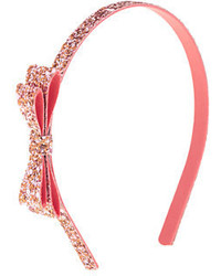 J.Crew Girls Glitter Bow Headband