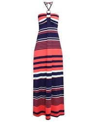 Anna Field Maxi Dress Navycoral