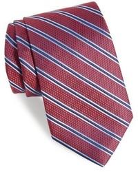 Nordstrom Shop Parktime Stripe Silk Tie