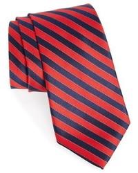 Nordstrom Shop Stitch Stripe Silk Tie