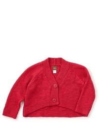 Tea Collection Infant Girls Mochi Knit Crop Cardigan