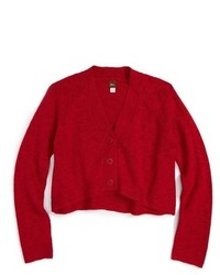 Tea Collection Mochi Knit Crop Cardigan